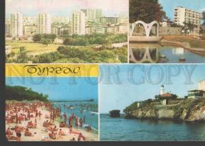 113301 Bulgaria BURGAS Bourgas LIGHTHOUSE Old photo postcard