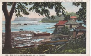 San Miguel, Pearl Islands, Republic of PANAMA, 1910-20s