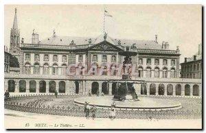 Old Postcard Metz Theater