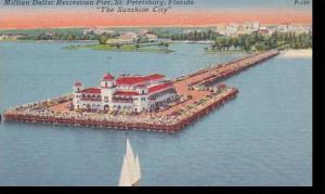 Florida St Petersburg Millon Dollar Recration Pier