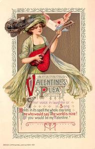 Publisher John Winsch, 1911 Artist Samuel Schmucker Unused