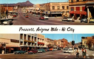 Arizona Prescott Gurley Street Looking East and West