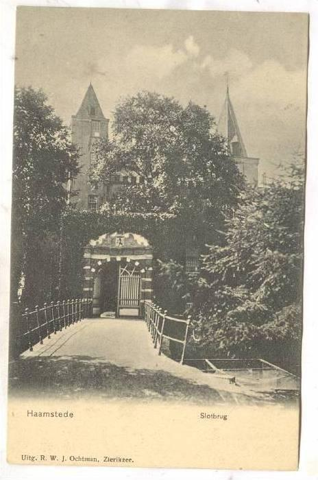 Slotbrug, Haamstede (Zeeland), Netherlands, 1900-1910s