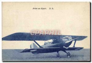 Old Postcard Jet Aviation Jet flights