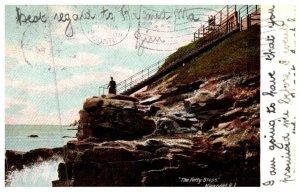 Rhode Island Newport ,  Forty Steps