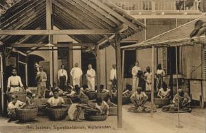indonesia, JAVA WELTEVREDEN, Cigarette Factory Anton Justman, Tobacco (1910s) I