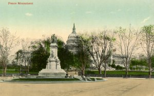 DC - Washington. The Peace Monument