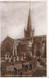 Somerset Postcard - St John The Baptist Church - Frome - Real Photo - Ref ZZ4143