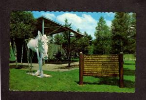 NB Amusement Park Bronnum ANIMALAND Zoo Sussex New Brunswick CANADA Postcard