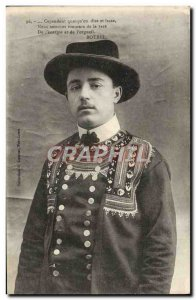 Old Postcard Brittany Folklore Man Botrel
