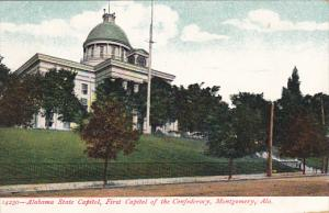 Alabama Montgomery State Capitol First Capitol Of The Confederacy