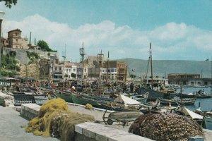 PIRAEUS, Greece, 50-70s; Tourkolimano Bay