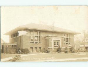 Pre-1930 rppc NICE VIEW Rochelle Illinois IL i9528