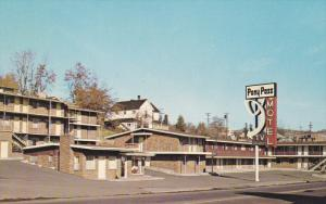 Pony Pass Motel, KLAMATH FALLS, Oregon, 40-60's
