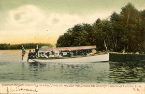 NH - Canobie Lake Park. Steamer Mineola