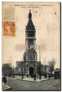 Paris (14) L & # 39Eglise St-Pierre de Montrouge St Peter of Montrouge Church...