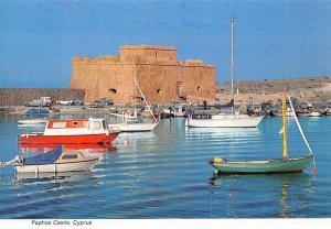 Cyprus Paphos Castle Boats Bateaux Chateau