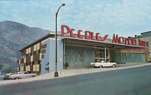 Canada Peebles Motor Inn Downtown Nelson British Columbia