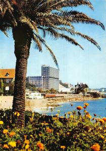 Portugal O Maior Hotel Largest Hotel Beach Postcard