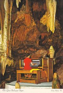 The Great Stalacipipe Organ,  The beautiful Caverns of Luray,  Luray,  Virgin...