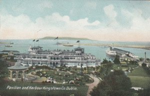 KINGSTOWN , Co. Dublin, Ireland, 1900-1910s; Pavilion & Harbour