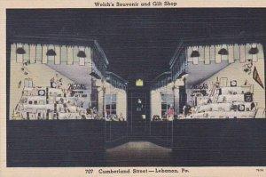 Pennsylvania Lebanon Welch's Souvenir &  Gift Shop