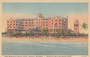 NASSAU, Bahamas, 1930-40s; Fort Montague Beach Hotel