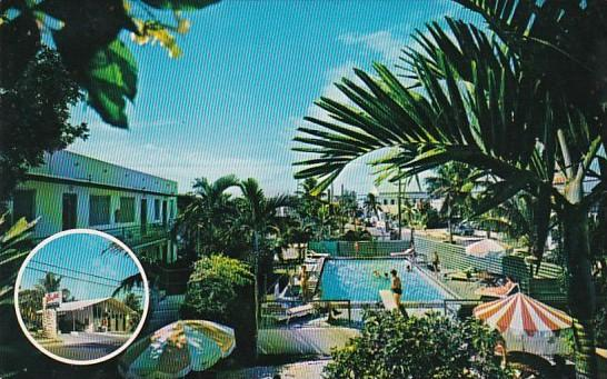 Florida Key West Hibiscus Motel On Simonton Street In The Florida Keys 1969