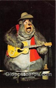 Country Bear Jamboree, Big Al Walt Disney World, FL, USA Postcard Post Card W...