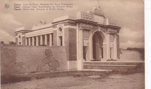 Belgium Ypres Menin Gate Memorial Of British Heroes