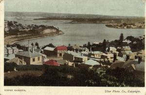 australia, SYDNEY, Harbour Scene (1911) Postcard