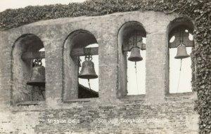 RP: San Juan Capistrano , California , 1930-40s ; Mission Bells