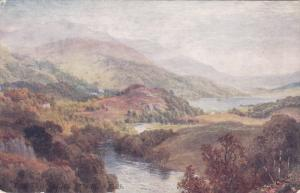 Raphael Tuck & Sons´, #7350; SCOTLAND, 1900-1910's; The River Teith