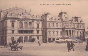 France Autun Theatre et Hotel de Ville