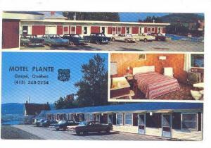 Motel Plante , GASPE, Quebec , Canada , PU-1986