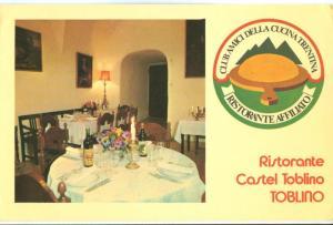 Italy, Ristorante Castel Toblino, 1976 used Postcard