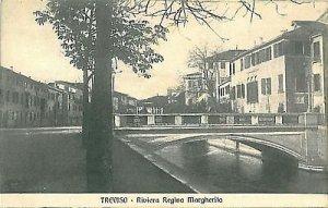 09589 - CARTOLINA d'Epoca - TREVISO - RIVIERA REGINA MARGHERITA