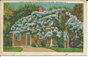 Providence, R.I., Roger Williams Park, Betsy Williams Cottage