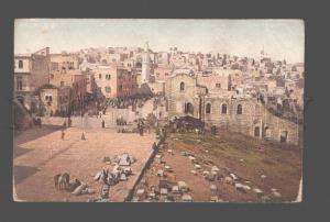 079851 Bethlehem view Vintage Photoglob PC