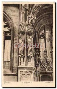 Thann Old Postcard Cathedral