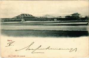 PC CPA MOZAMBIQUE / PORTUGAL, BEIRA, VINTAGE POSTCARD (b13389)