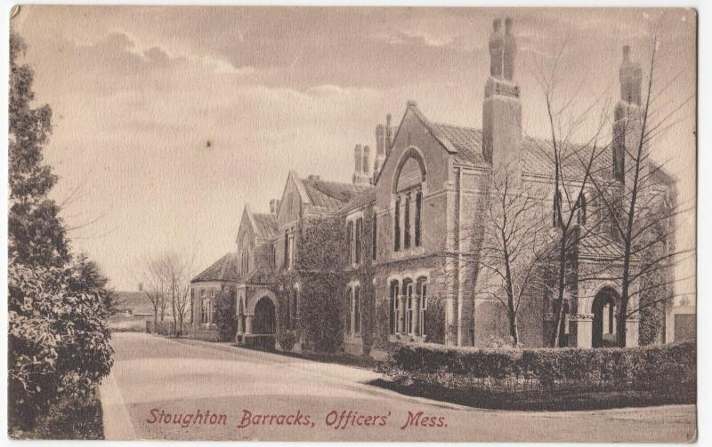 Surrey; Guildford, Stoughton Barracks, Officers Mess PPC By Frith, Unposted