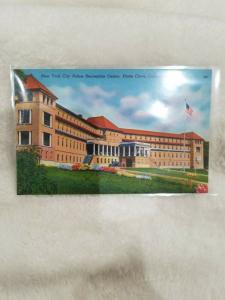 Antique Postcard New York City Police Recreation Centre, Platte Clove, Catskills
