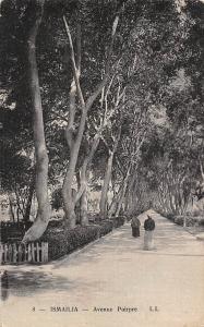 Egypt Ismailia Avenue Poirpre