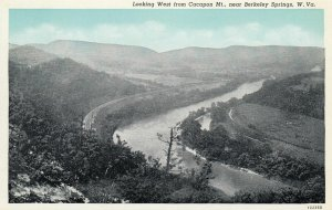 BERKELEY SPRINGS , West Virginia , 1910s ; Looking West from Cacapon Mt