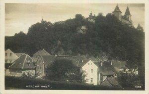Postcard Czech Republic Hrad Krivoklat