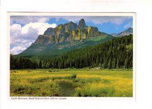 Castle Mountain, Banff National Park, Alberta,