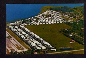 FL Lakeside Ranch Mobile Home Club Winter Haven Florida Postcard Ted Sager PC