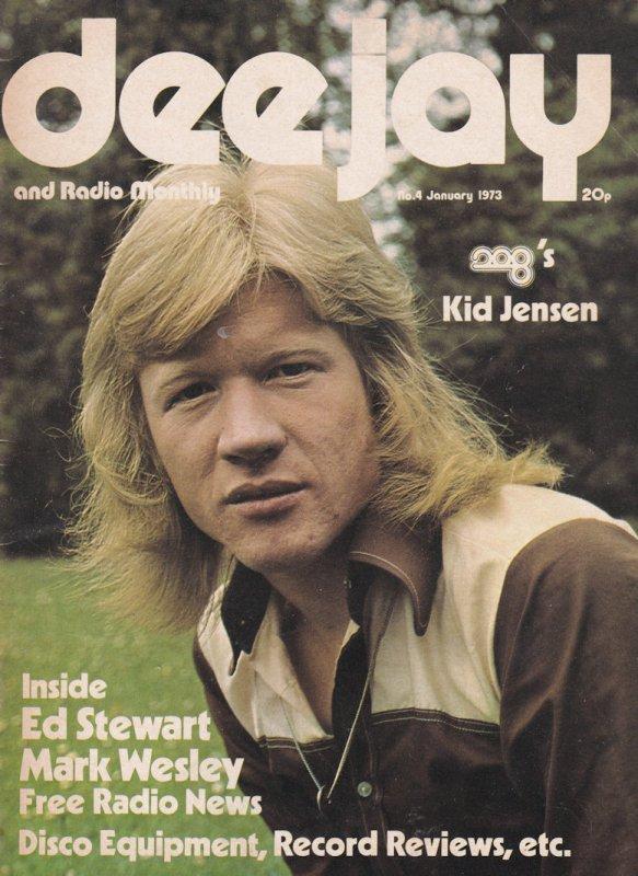 Ed Stewpot Stewart Kid Jensen Radio 1 Dee Jay DJ Magazine