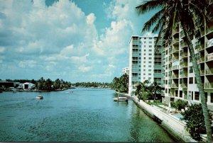 Florida Pompano Beach Inland Waterway